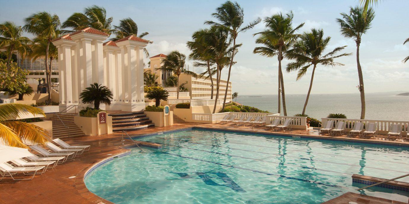Hotels sky swimming pool Resort property Pool Villa caribbean backyard hacienda Lagoon palm swimming