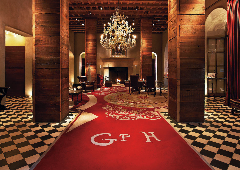 Hotels Lobby aisle red flooring function hall ballroom