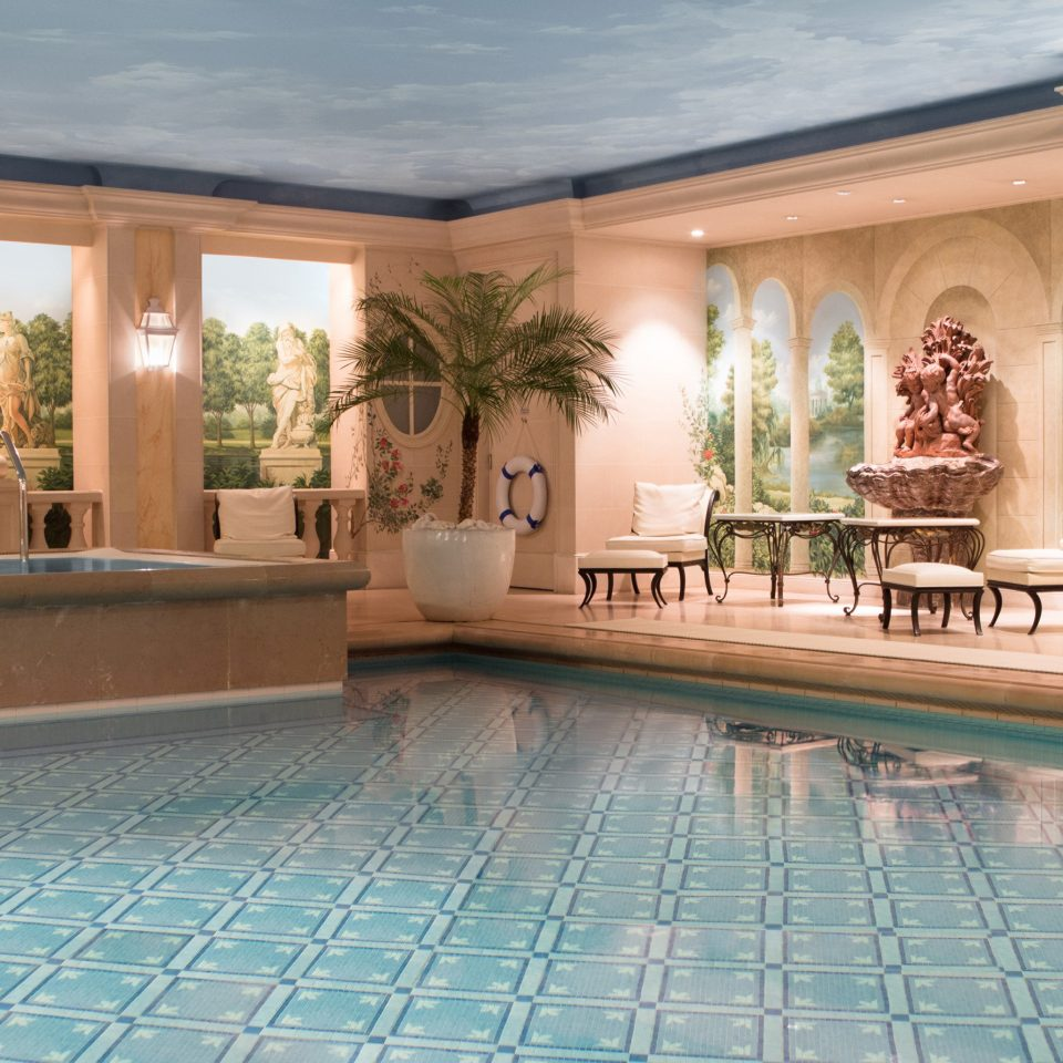 Hotels building swimming pool property Lobby Resort mansion home Villa condominium palace stone tiled
