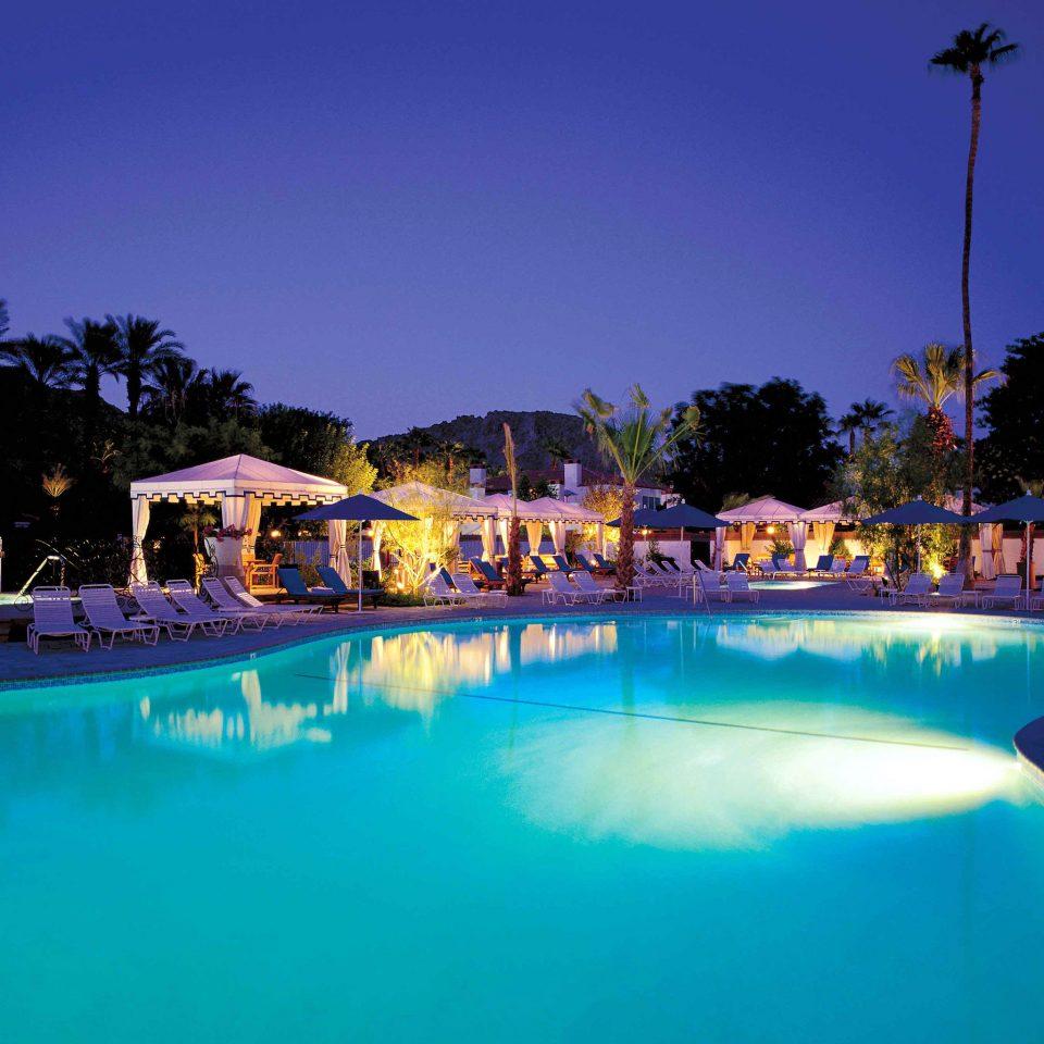 Hotels Lounge Luxury Pool Trip Ideas sky swimming pool leisure Resort resort town blue swimming