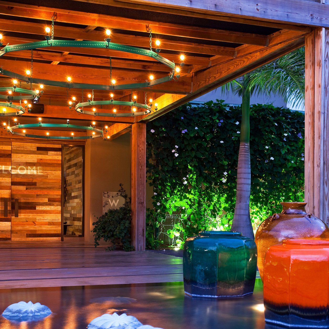 Hotels Lounge Modern Resort tree lighting