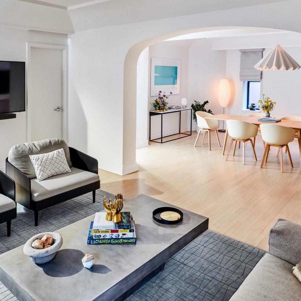 Hotels Travel Deals property living room Suite interior designer penthouse apartment Modern flat