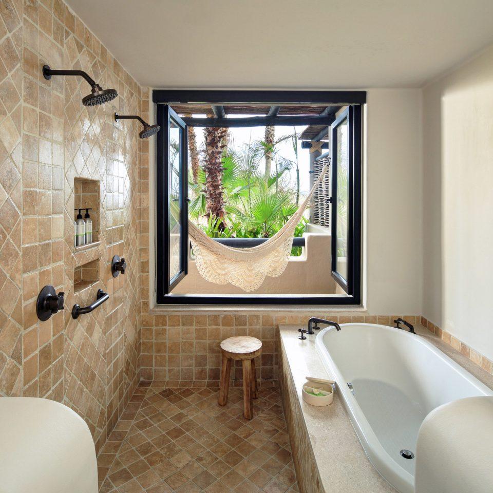 Hotels Romance bathroom property home scene Suite cottage living room tiled