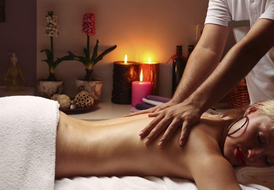 massage leg muscle human body