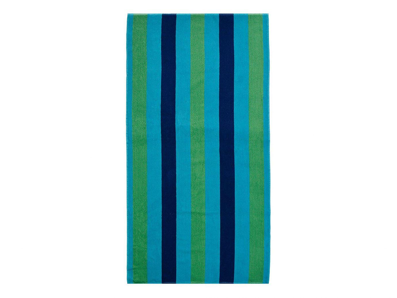 Style + Design aqua electric blue textile turquoise angle rectangle towel fabric