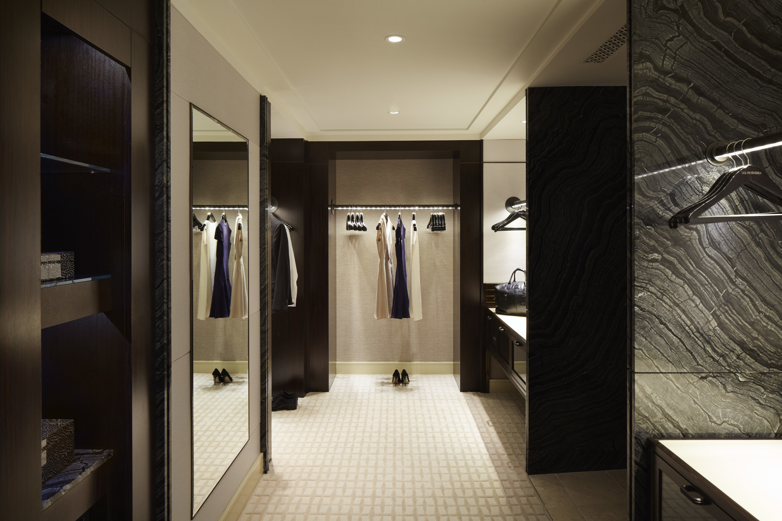 Hotels Luxury Travel indoor wall floor bathroom room interior design ceiling Boutique flooring Lobby furniture closet interior designer