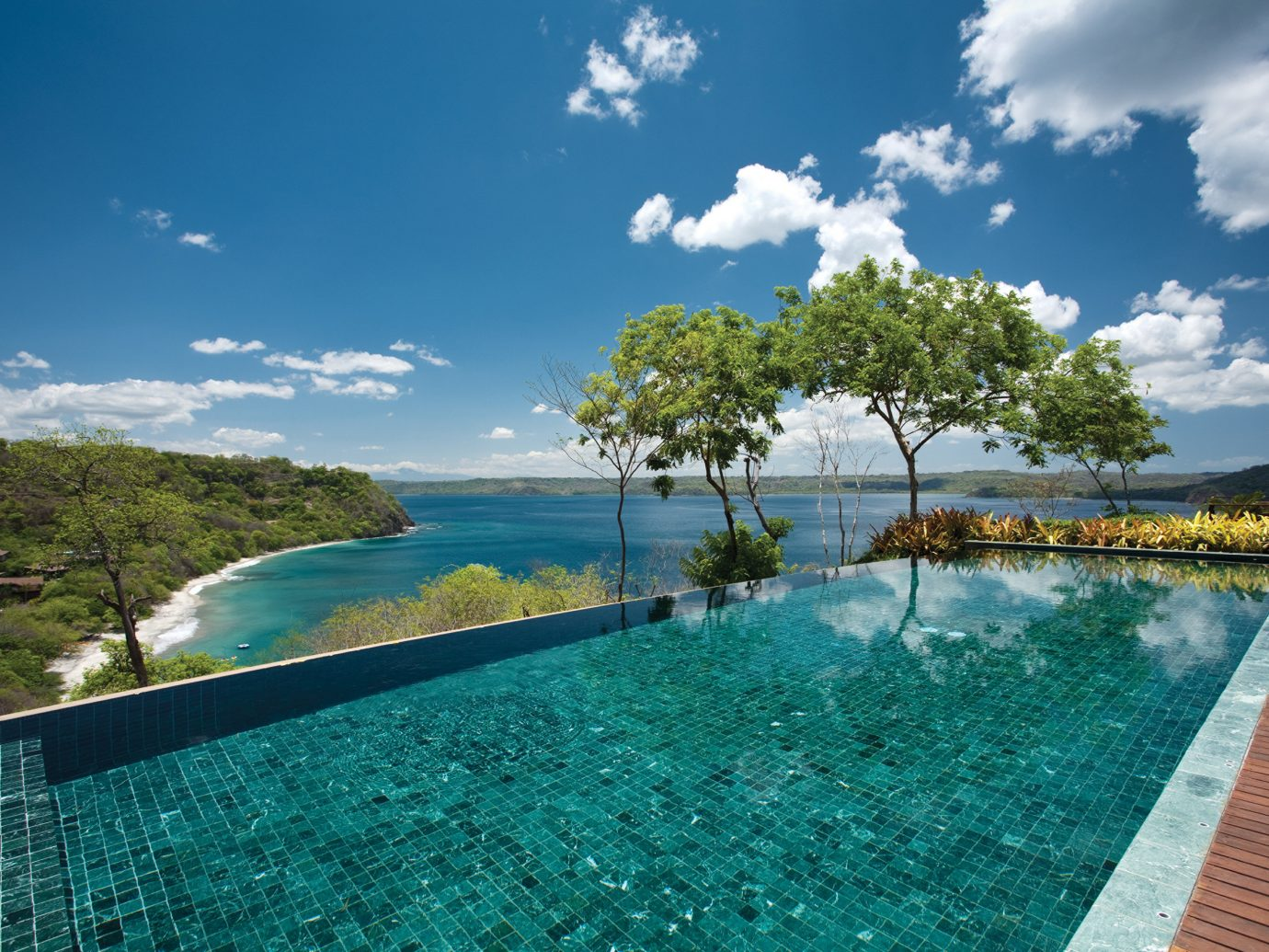 Infinity Pool At The Four Seasons Resort In Costa Rica - Province Of Guanacaste