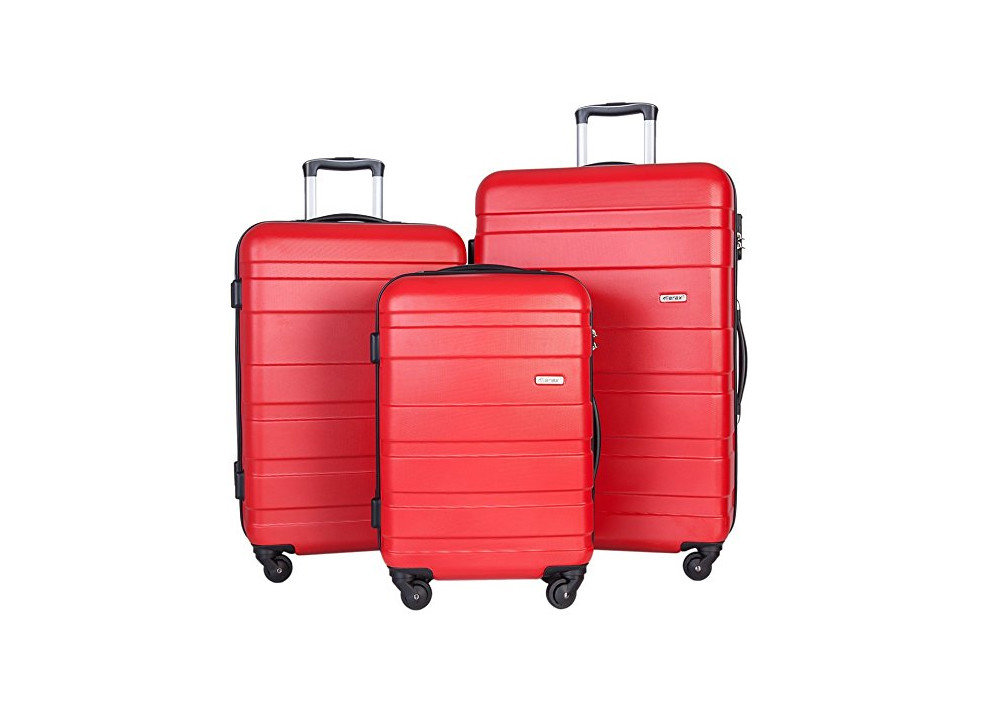 Packing Tips Style + Design Travel Shop suitcase luggage red accessory product hand luggage product design suit luggage & bags case baggage bag stacked