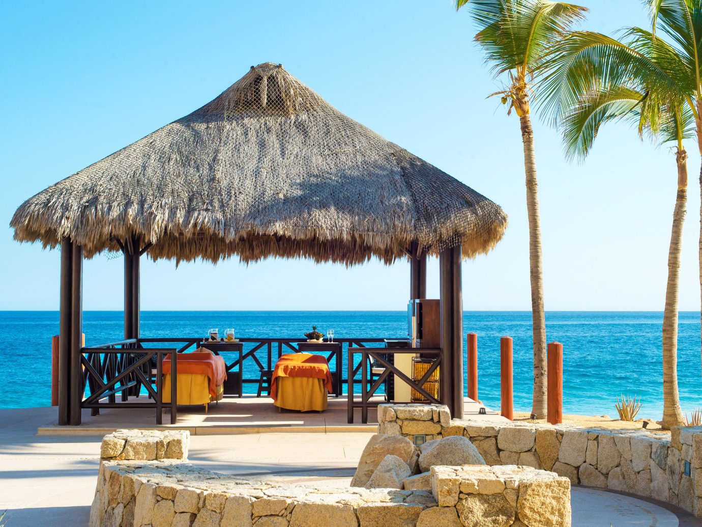 Overwater spa at Secrets Puerto Los Cabos Golf & Spa Resort