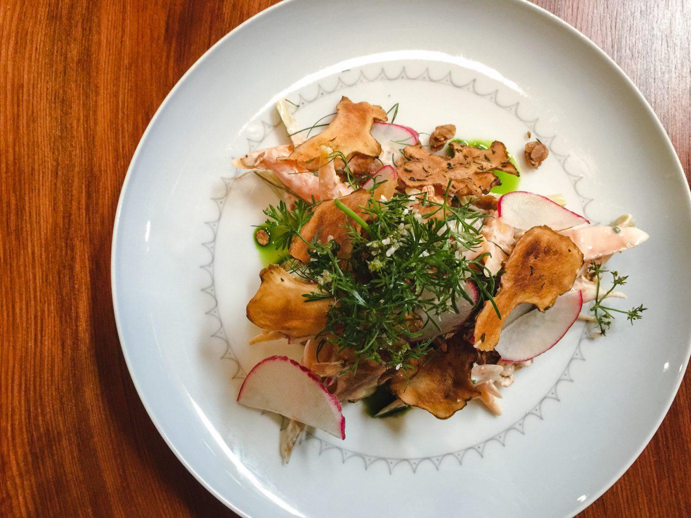 Trip Ideas plate food table dish cuisine white vegetarian food recipe thai food asian food Seafood meal meat vegetable piece de resistance