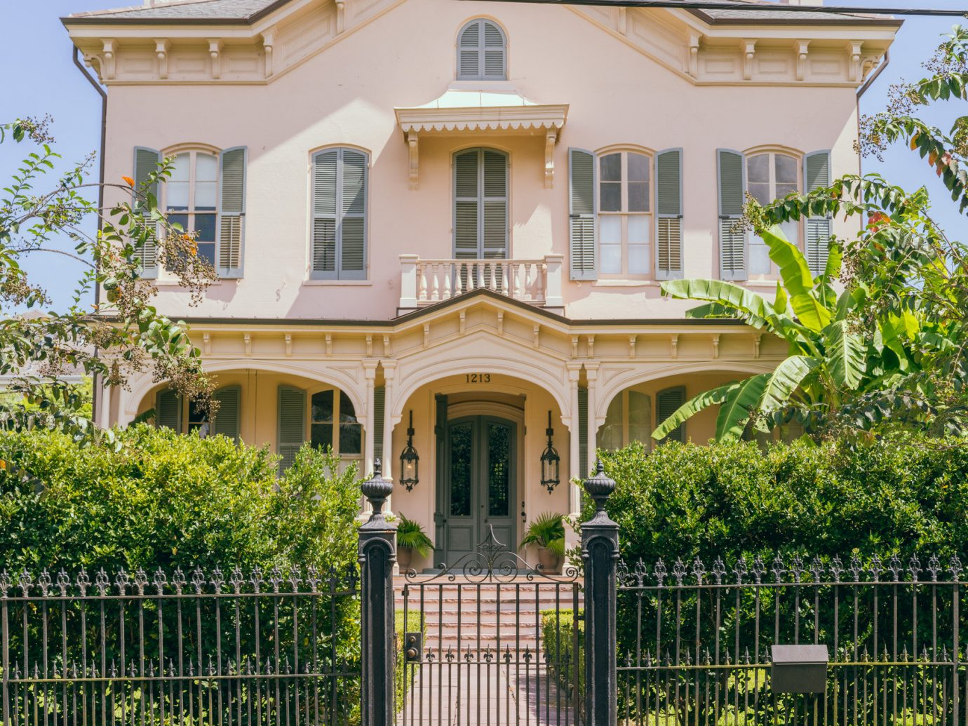 Historic house in New Orleans Louisiana