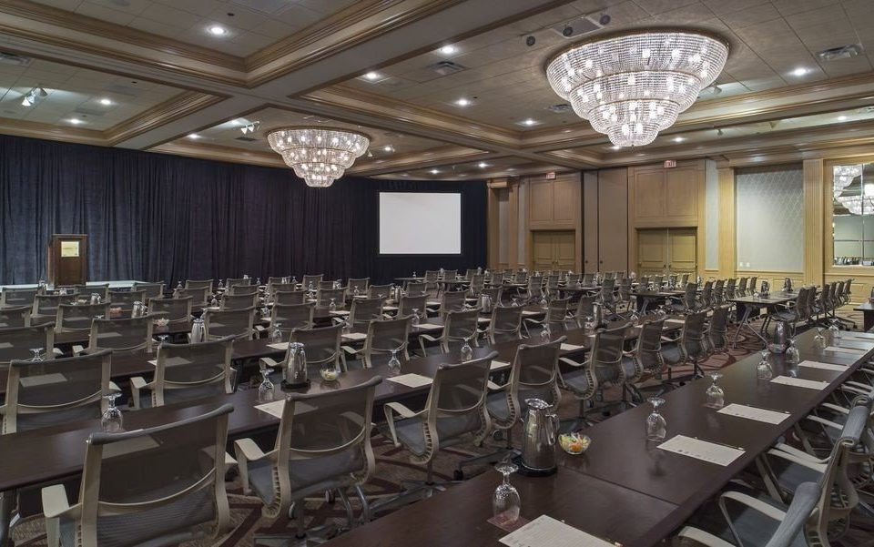 auditorium conference hall scene function hall convention center meeting ballroom classroom lined Island conference room