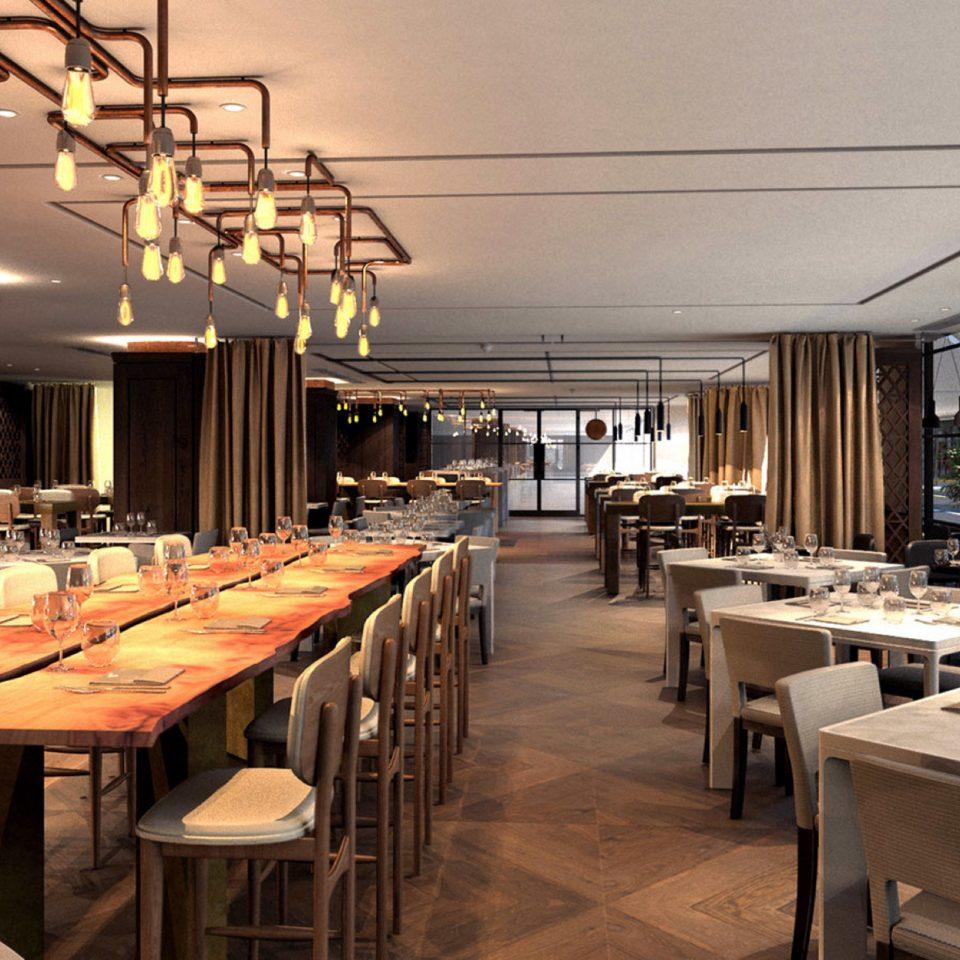 chair restaurant café cafeteria Island