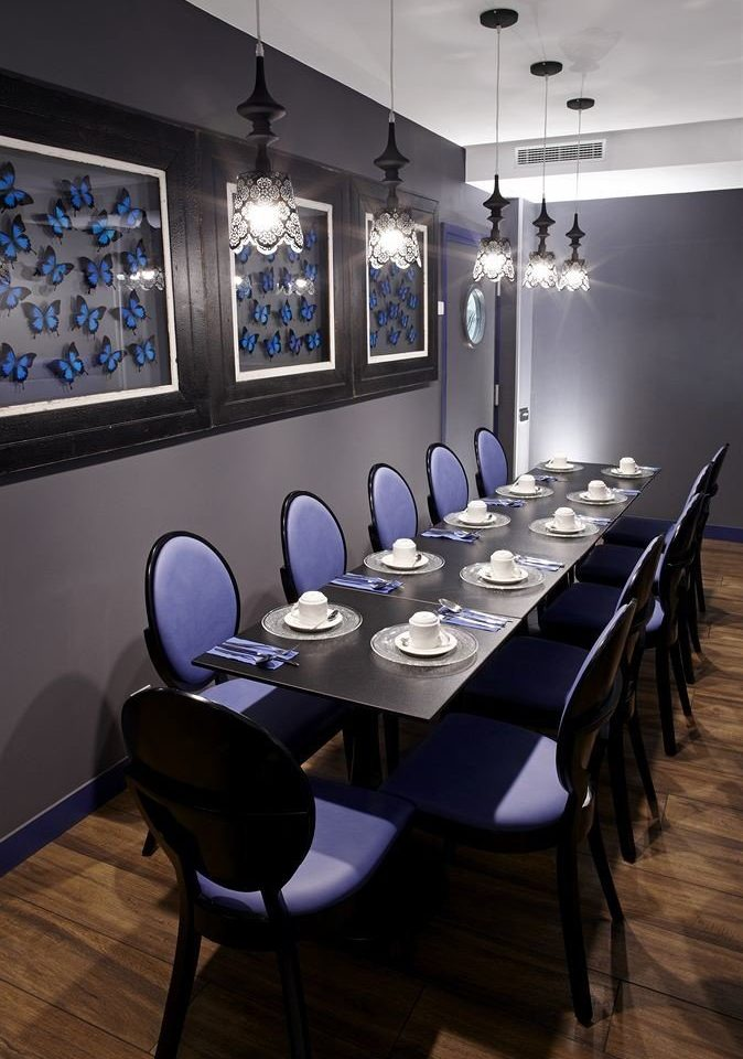restaurant scene conference hall conference room dining table Island