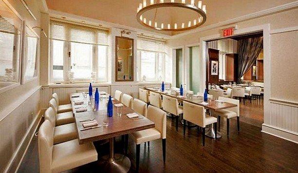 restaurant flooring Island dining table