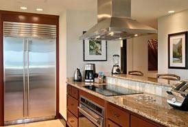 property Kitchen countertop cuisine classique sink home cabinetry cottage stainless appliance steel Island