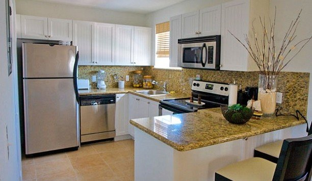 Kitchen countertop appliance home stainless cuisine classique steel interior designer kitchen appliance silver Island