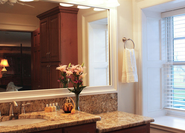 property home hardwood sink living room countertop cabinetry bathroom molding Kitchen Island