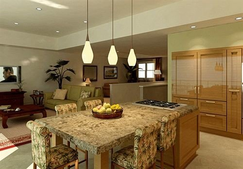 property Kitchen countertop cabinetry home cuisine classique hardwood counter cottage living room Island