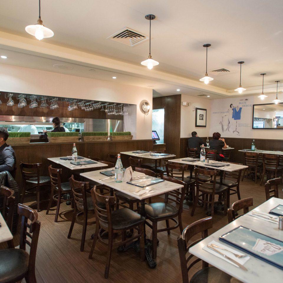 Kitchen restaurant cafeteria classroom food court working cluttered Island