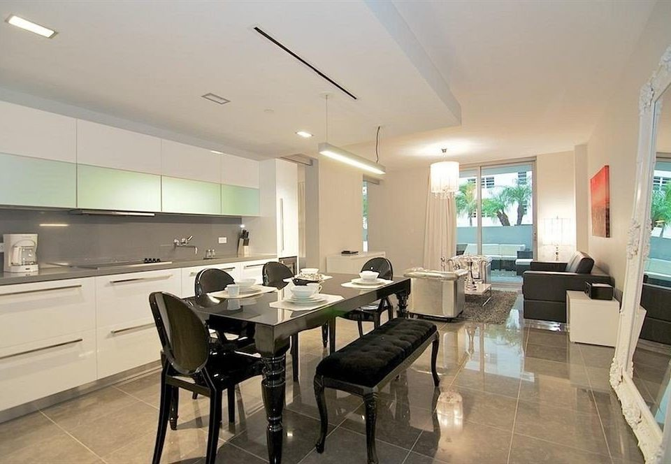 property Kitchen condominium home living room Island