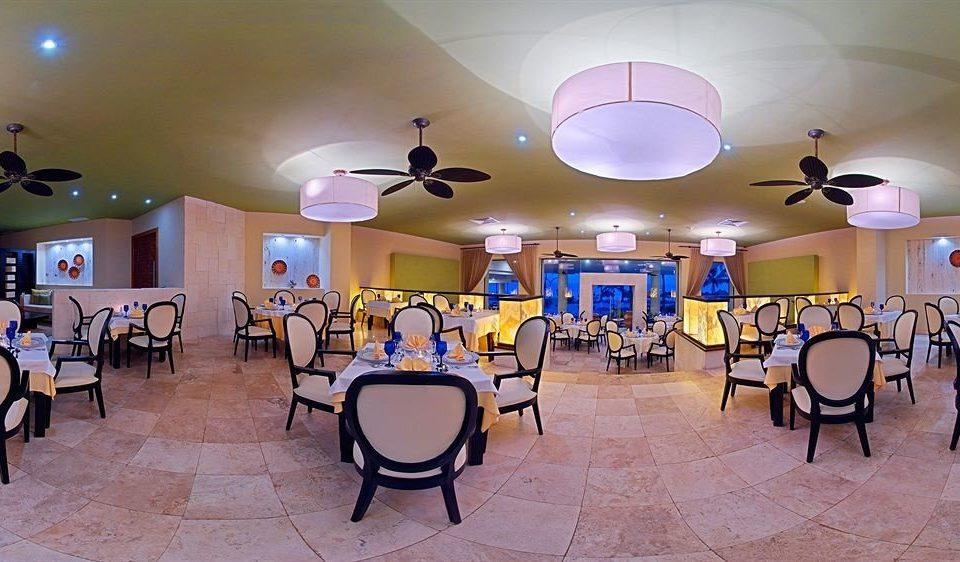 chair Kitchen function hall restaurant black Resort set Island dining table