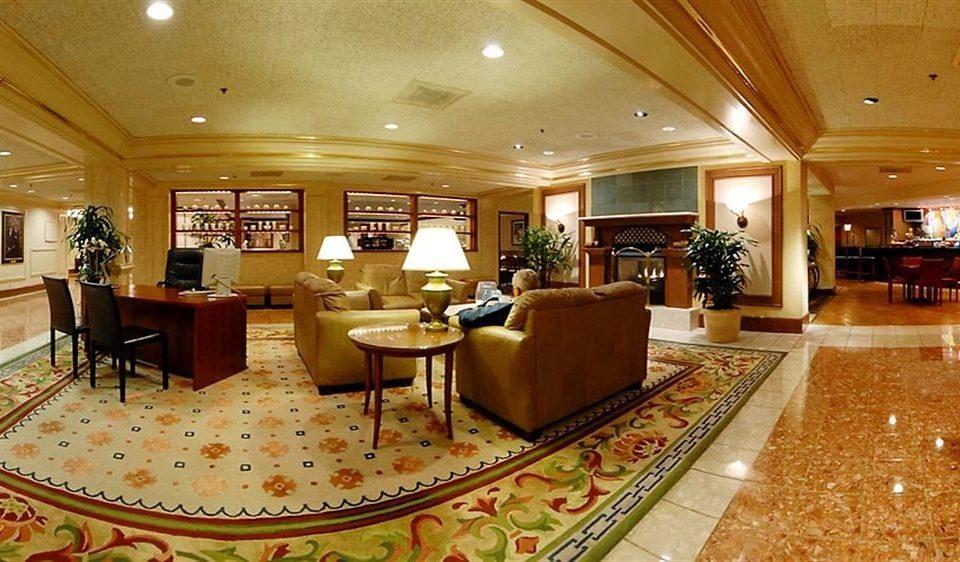Lobby function hall recreation room living room ballroom Island