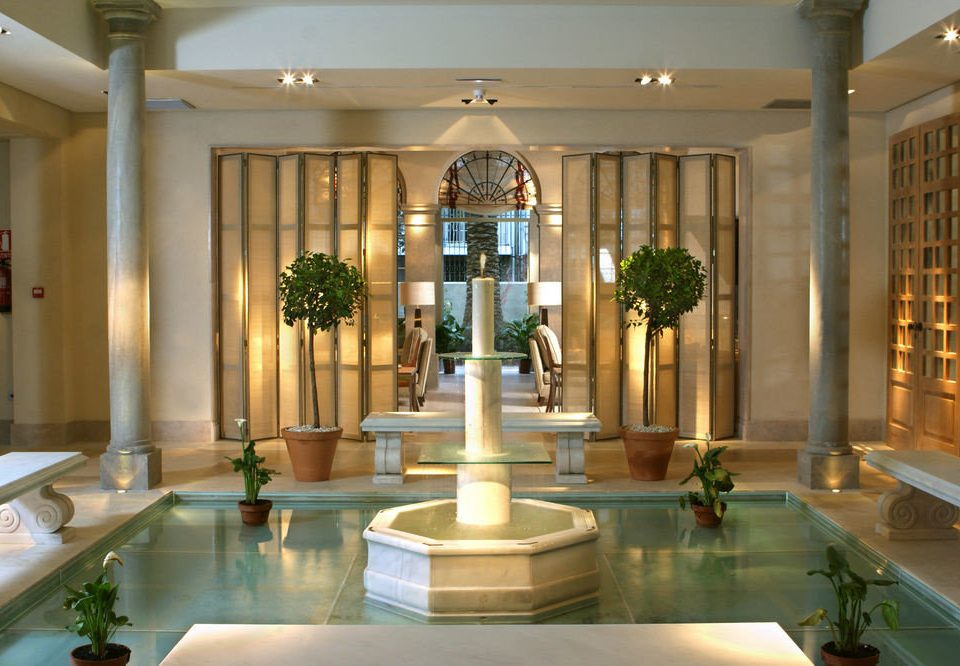 Lobby property building mansion palace lighting home counter plant Island