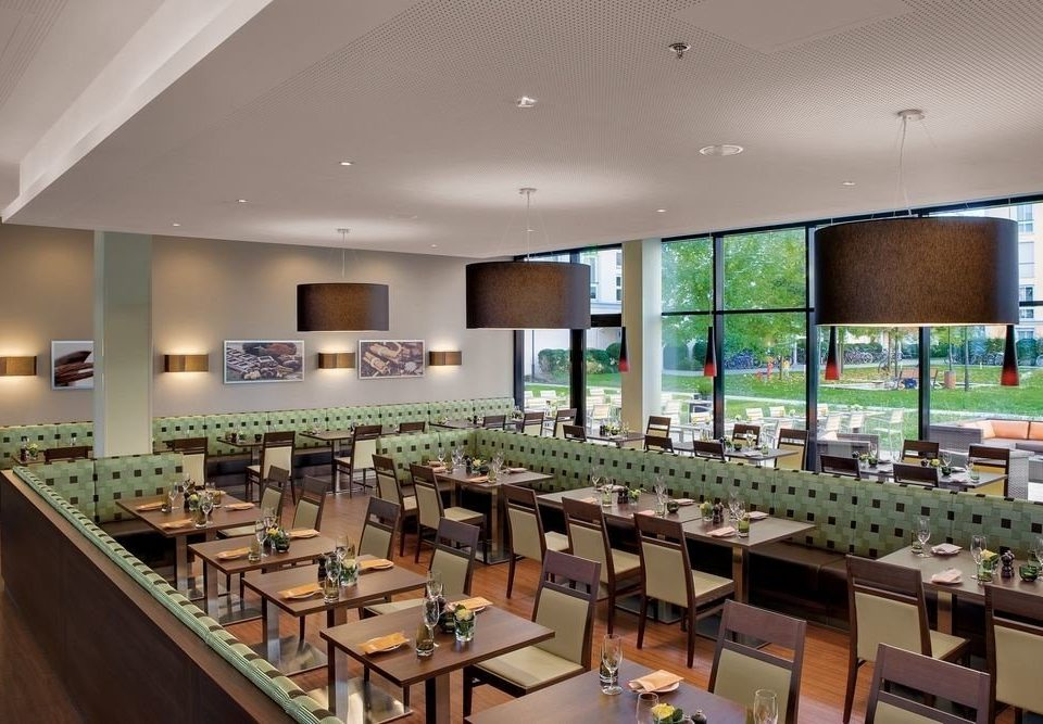restaurant function hall cafeteria convention center Lobby conference hall condominium Island
