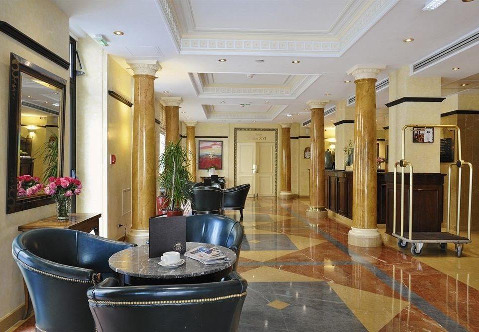 Lobby property home living room condominium flooring Island