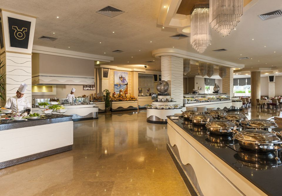 property Lobby restaurant counter cuisine food Island