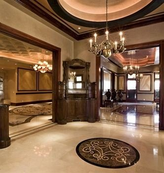 Lobby property mansion hardwood home living room lighting counter wood flooring flooring Island
