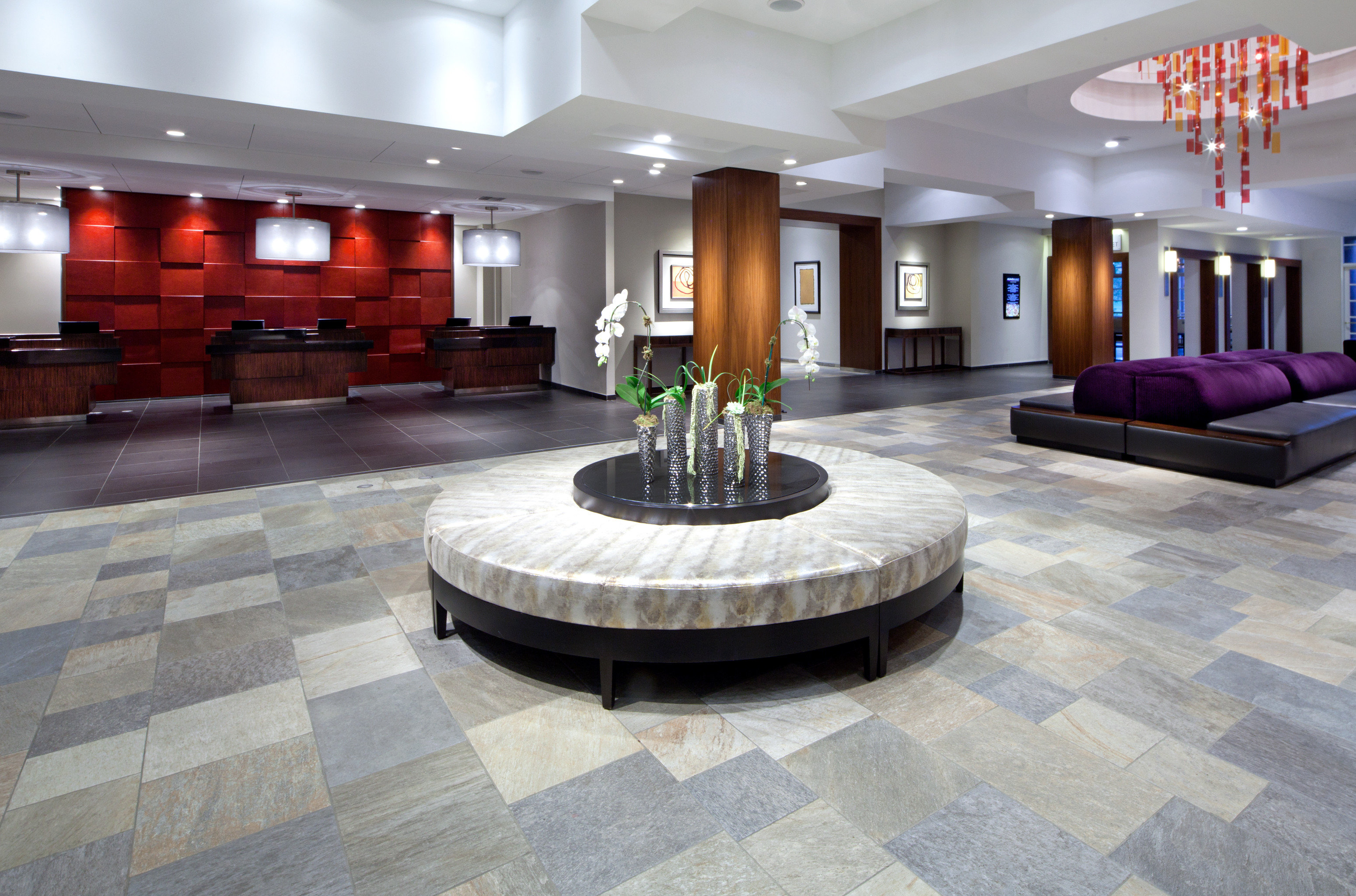 Lobby property flooring hardwood living room home wood flooring mansion stone Island