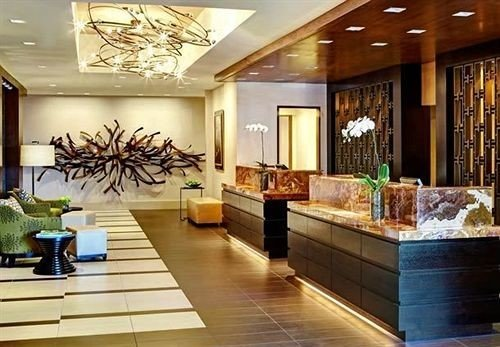 Lounge Luxury Modern Lobby property living room home lighting flooring counter condominium Island