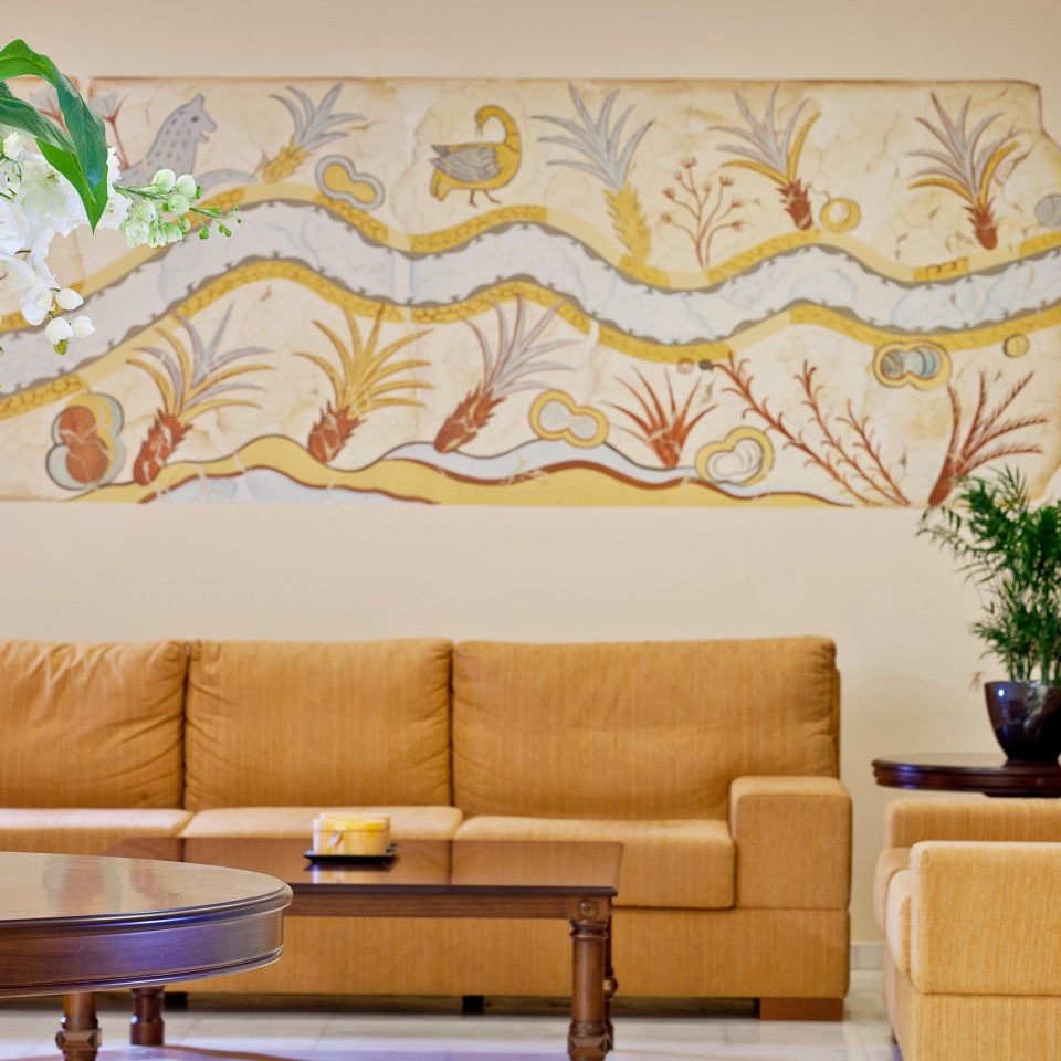 Island Lobby Lounge Modern sofa living room mural modern art seat wallpaper window treatment textile curtain colored arranged
