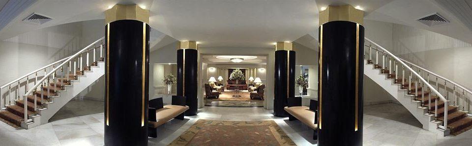 property building Lobby mansion lighting stairs hall Island Modern