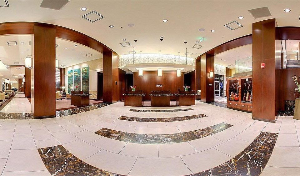 Lobby shopping mall function hall plaza convention center mansion Modern Island
