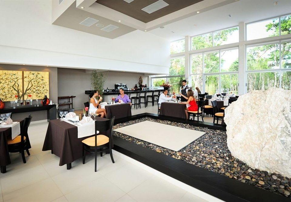 property restaurant Lobby counter Modern Island