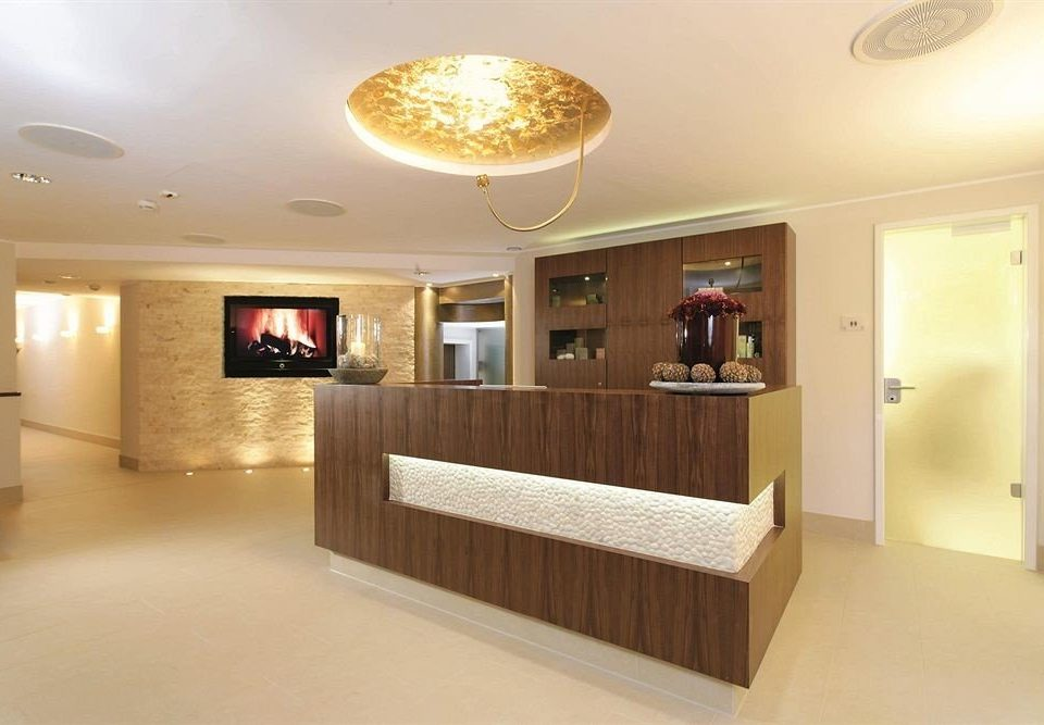 property Lobby home living room receptionist Modern flat Island