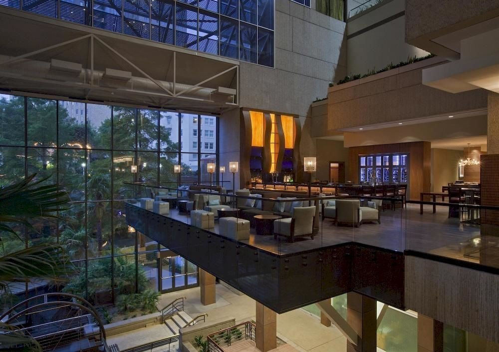 condominium property Lobby plaza Resort counter convention center headquarters Island