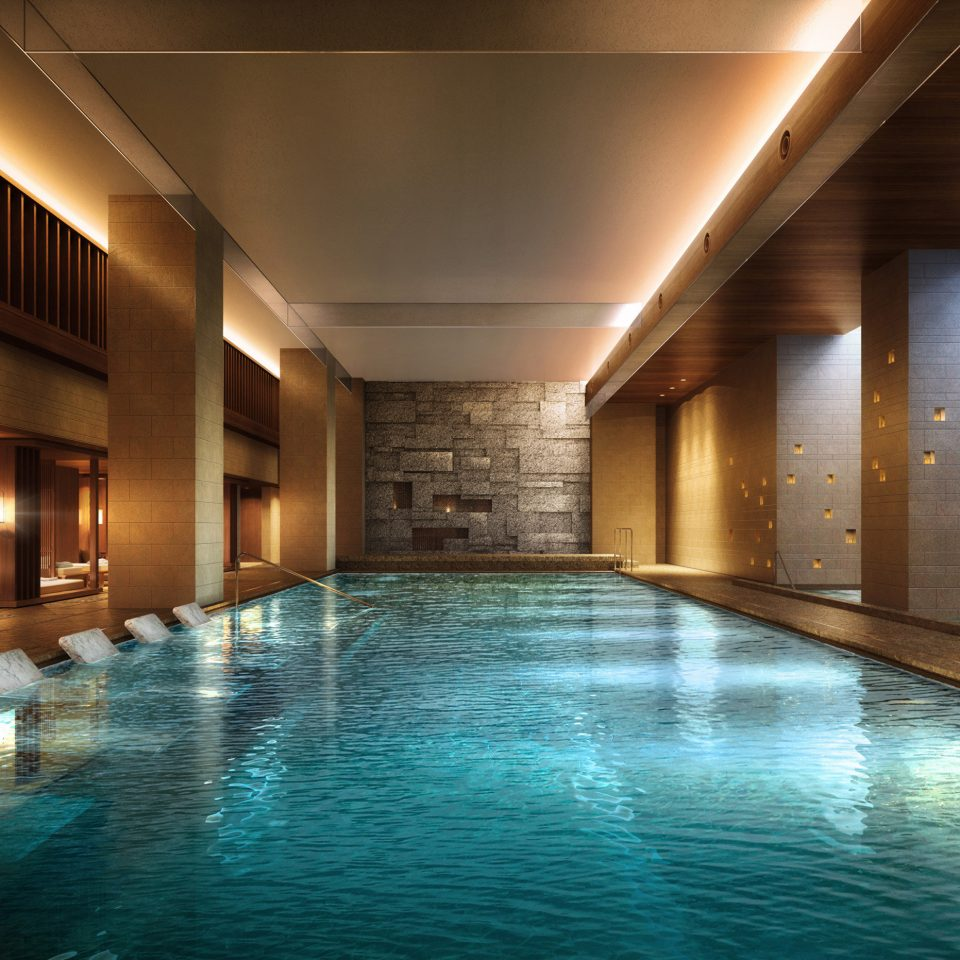 water swimming pool leisure centre Lobby thermae Resort convention center Island