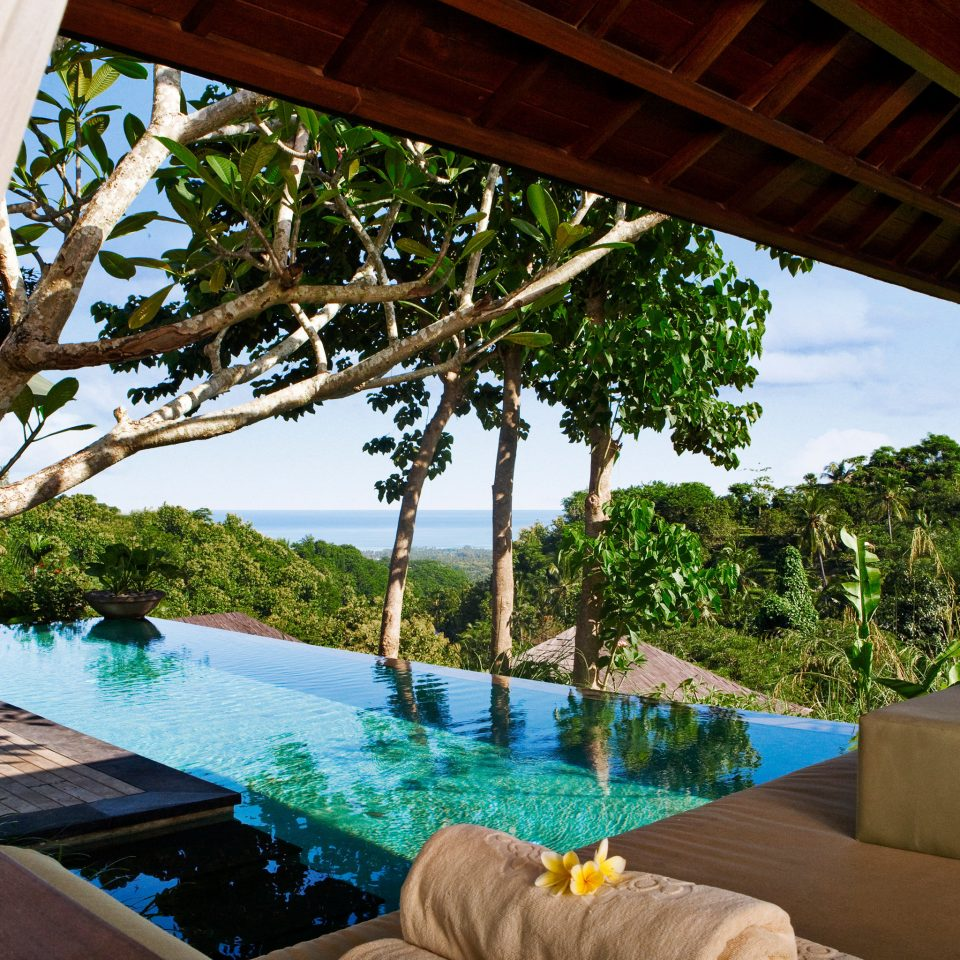 Island Luxury Pool Terrace Waterfront leisure swimming pool property Resort Villa backyard home