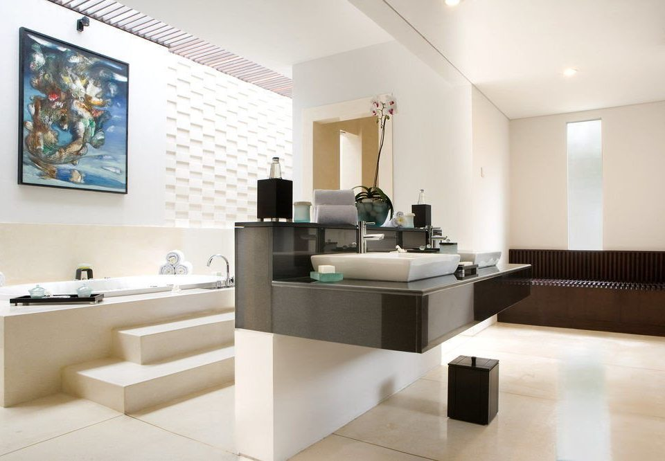 property living room white sink condominium office Modern Island