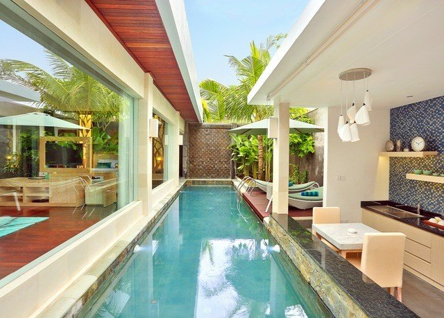 swimming pool property building Villa Resort condominium leisure home cottage mansion Modern Island