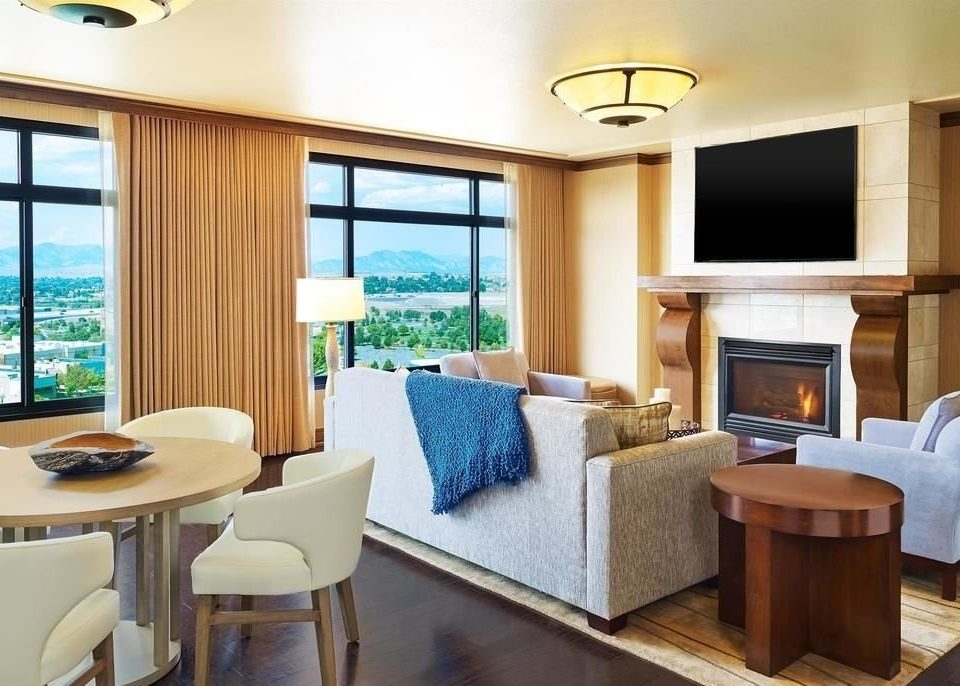 property condominium Suite home living room cottage Modern Island