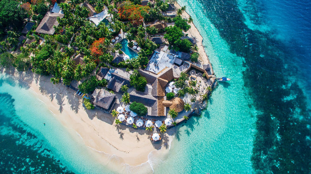 aerial photography water Nature Sea reef Water park caribbean swimming pool Pool Island swimming