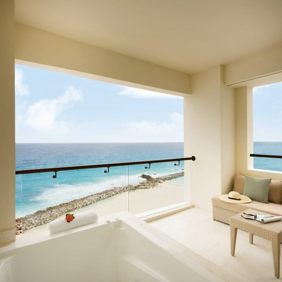 property swimming pool Ocean house Villa home Suite condominium overlooking tub Island