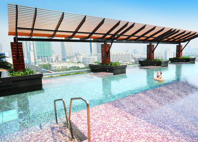 sky swimming pool property leisure building Ocean Villa outdoor structure condominium pergola Island