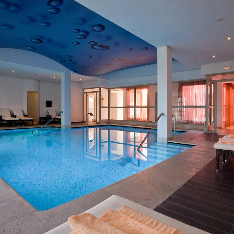swimming pool property building Resort blue Pool Villa mansion billiard room condominium Island