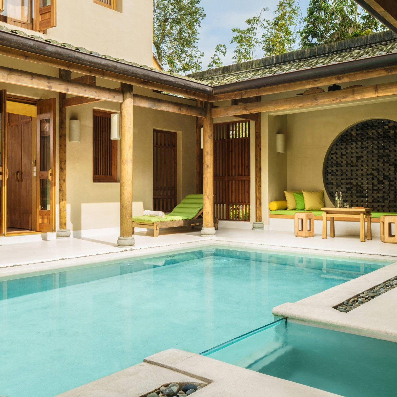 swimming pool property leisure building Resort Villa mansion home palace condominium counter hacienda Island